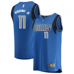 Fanatics Branded Dallas Mavericks Swingman Blue Tim Hardaway Jr. Fast Break Jersey - Icon Edition - Men's