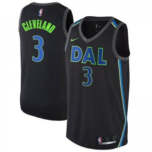 Nike Dallas Mavericks Swingman Black Antonius Cleveland Jersey - City Edition - Men's