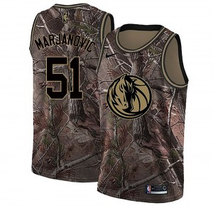 Nike Dallas Mavericks Swingman Camo Boban Marjanovic Realtree Collection Jersey - Men's