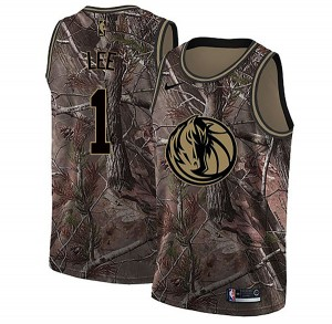 Nike Dallas Mavericks Swingman Camo Courtney Lee Realtree Collection Jersey - Youth