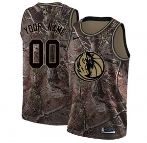 Nike Dallas Mavericks Swingman Camo Custom Realtree Collection Jersey - Men's