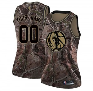 Nike Dallas Mavericks Swingman Camo Custom Realtree Collection Jersey - Women's