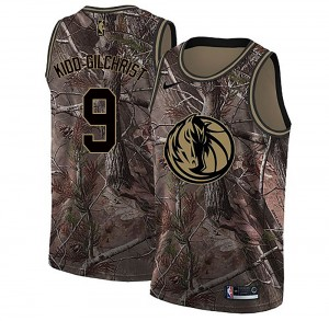 Nike Dallas Mavericks Swingman Camo Michael Kidd-Gilchrist Custom Realtree Collection Jersey - Youth