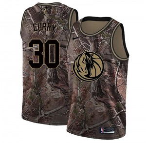 Nike Dallas Mavericks Swingman Camo Seth Curry Realtree Collection Jersey - Men's