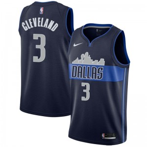 Nike Dallas Mavericks Swingman Navy Antonius Cleveland Jersey - Statement Edition - Men's