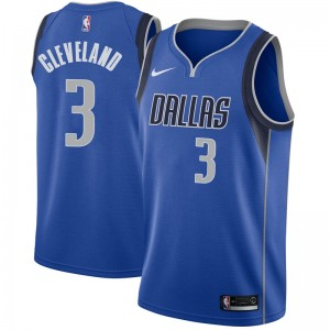 Nike Dallas Mavericks Swingman Royal Antonius Cleveland Jersey - Icon Edition - Men's