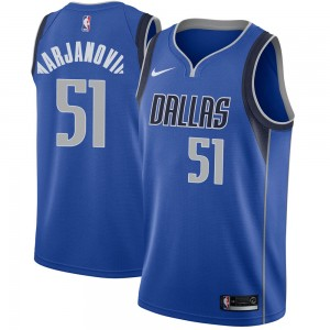 Nike Dallas Mavericks Swingman Royal Boban Marjanovic Jersey - Icon Edition - Men's