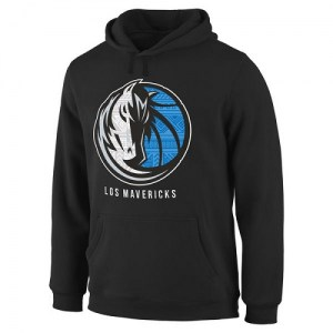 Dallas Mavericks Black Noches Enebea Pullover Hoodie - - Men's